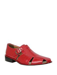 Giorgio Brutini Red Fisherman Sandals