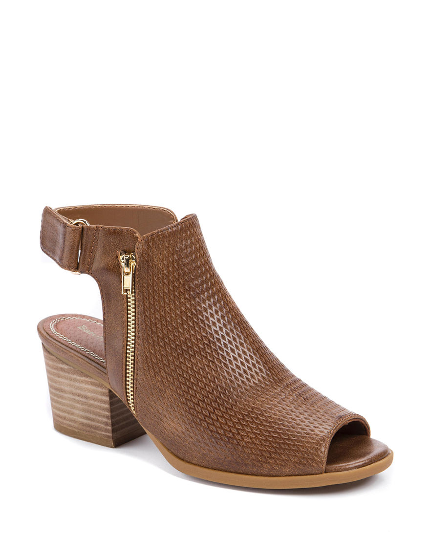 Bare Traps Tan Ankle Boots & Booties