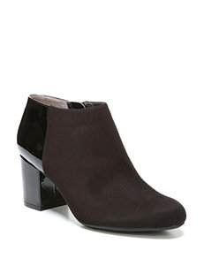 Life Stride Black Ankle Boots & Booties Comfort