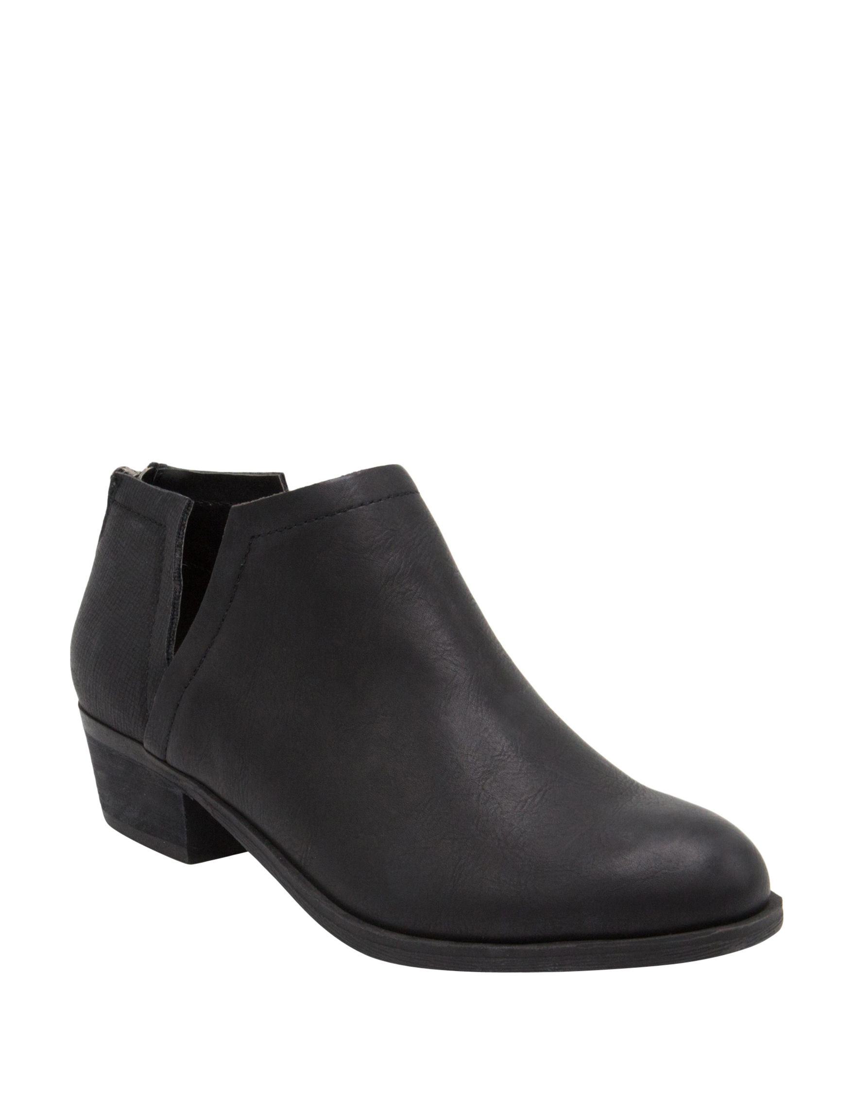 Sugar Black Ankle Boots & Booties