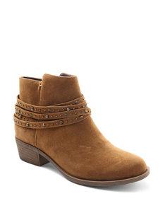 Kensie Tan Ankle Boots & Booties