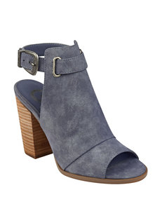 G by Guess Blue Ankle Boots & Booties Heeled Sandals