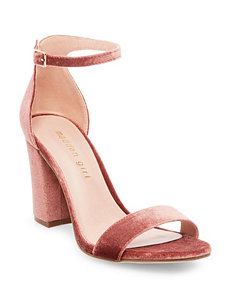 Madden Girl Red Heeled Sandals