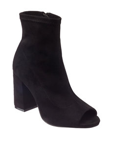 MIA Black Ankle Boots & Booties