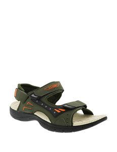 Licensed Olive Sport Sandals