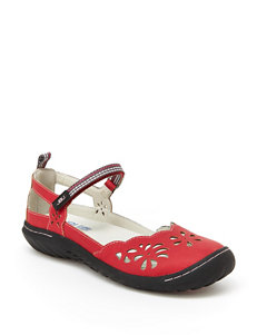 JBU Red Fisherman Sandals Sport Sandals