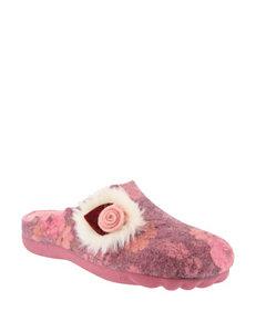 Flexus Pink Slipper Shoes