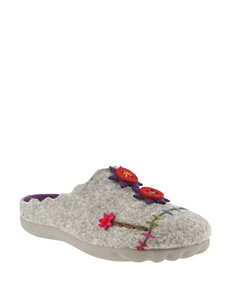 Flexus Piketfens Floral Slippers