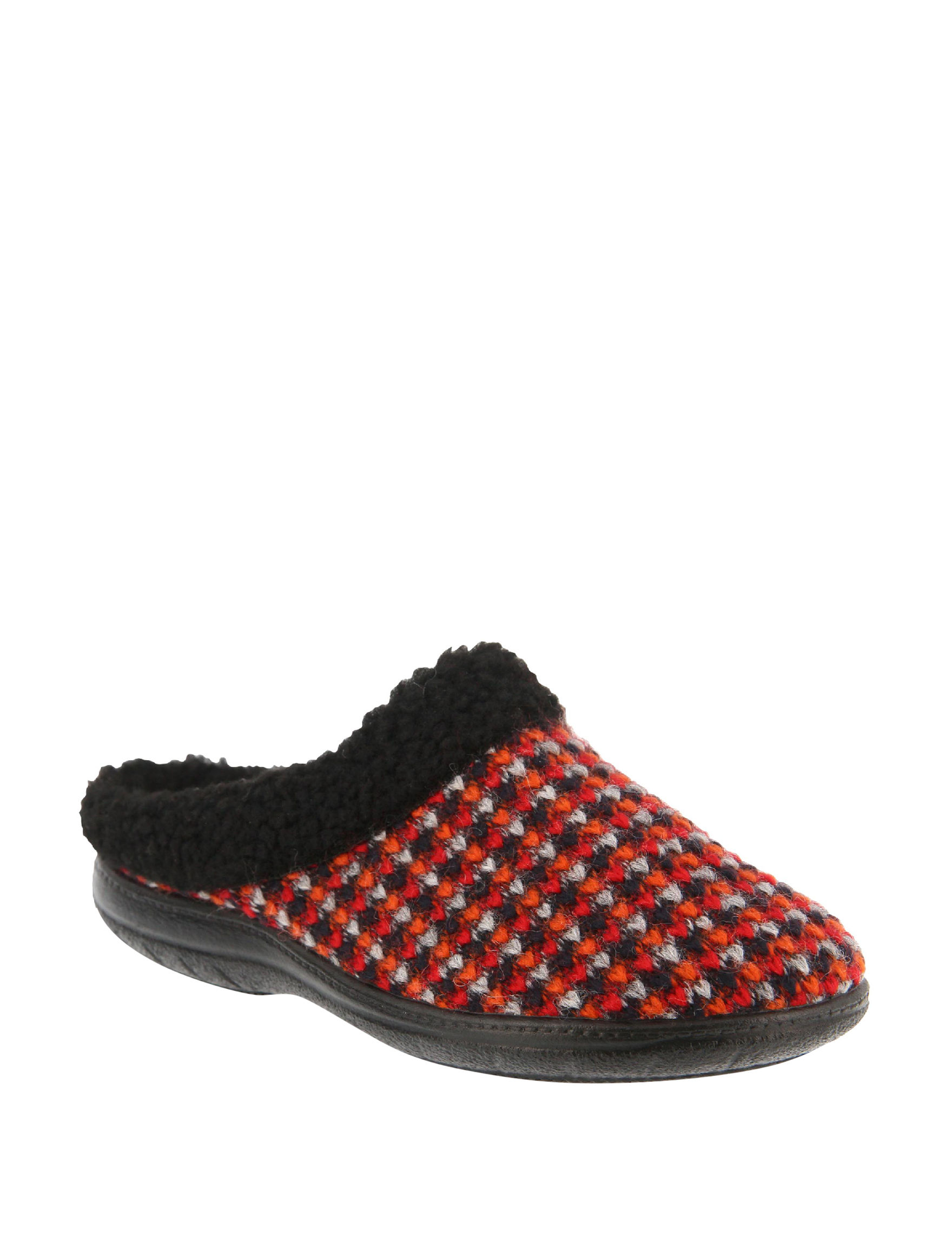 Flexus Red Slipper Shoes