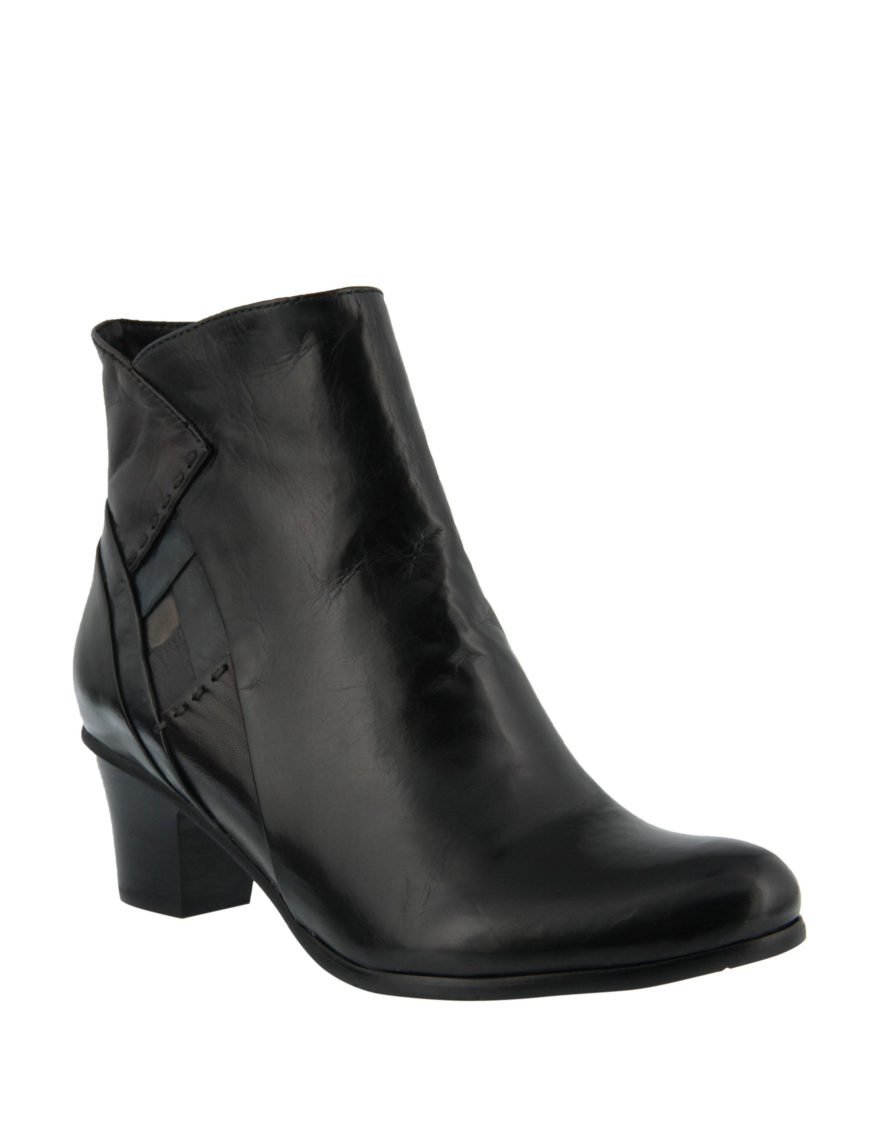 Spring Step Black Ankle Boots & Booties