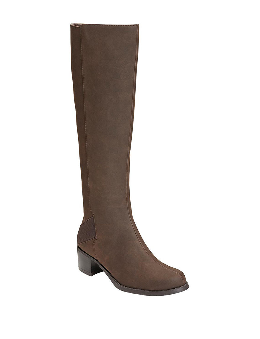 A2 by Aerosoles Brown Ankle Boots & Booties