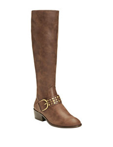 A2 by Aerosoles Brown Riding Boots