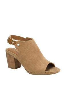 Eurosoft Taupe / Cognac Heeled Sandals