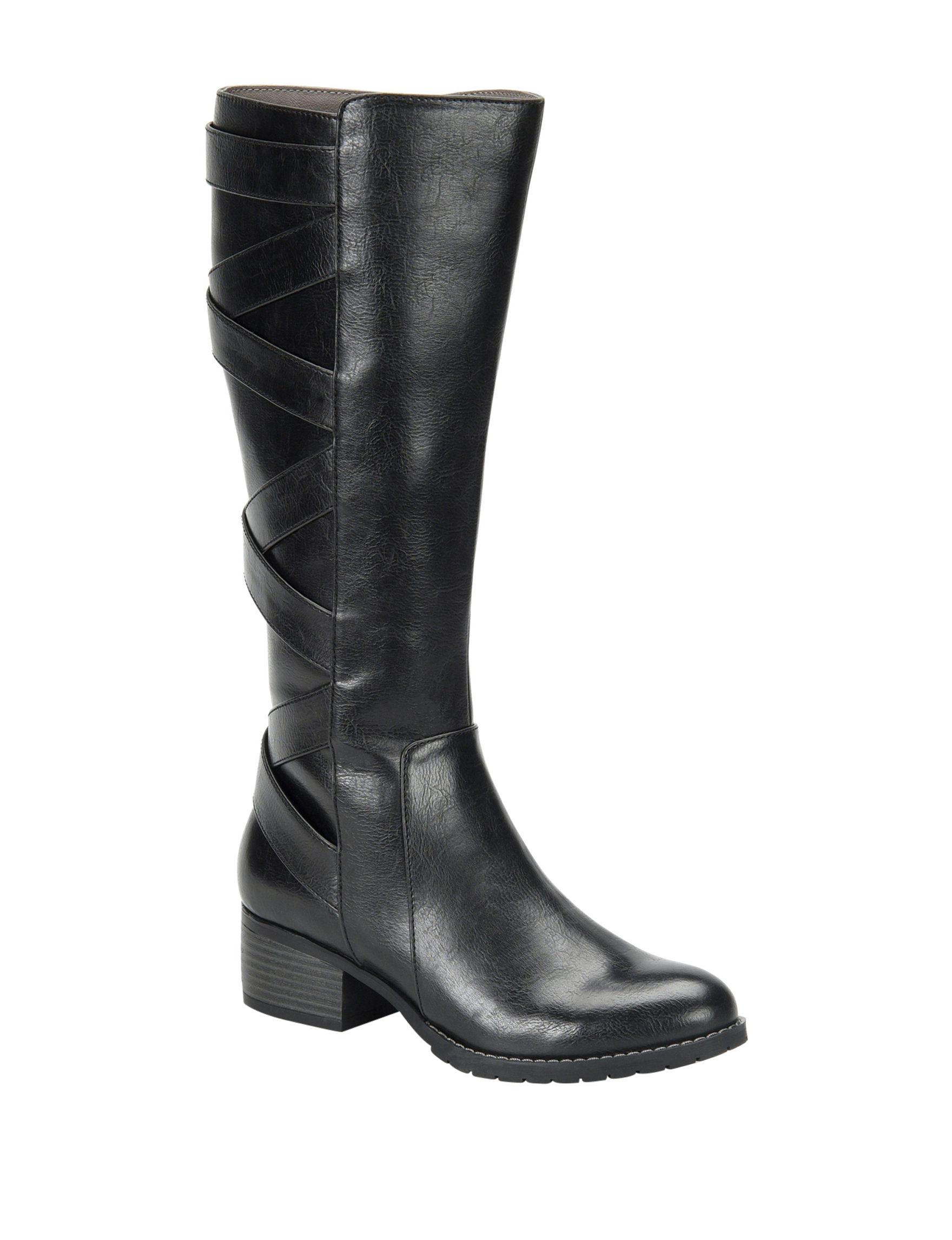 Eurosoft Black Riding Boots
