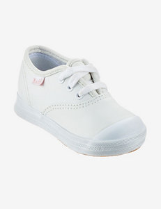 Keds White Leather