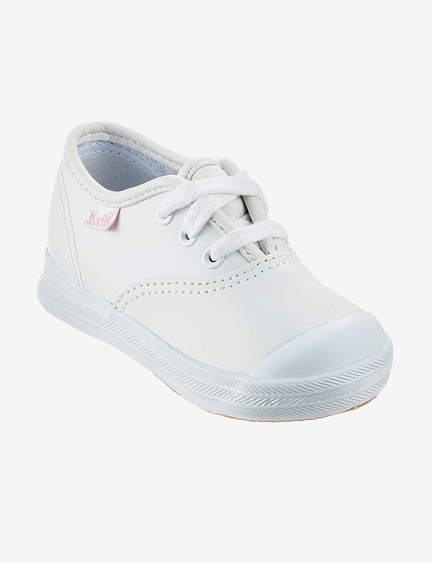 Keds White Leather