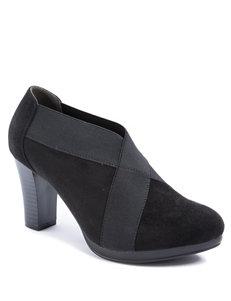 Andrew Geller Black Ankle Boots & Booties