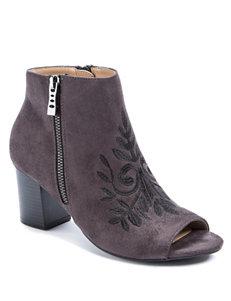 Andrew Geller Wine Ankle Boots & Booties