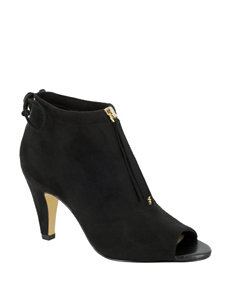 Bella Vita Black Ankle Boots & Booties