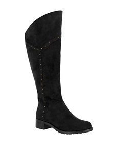 Bella Vita Black Riding Boots