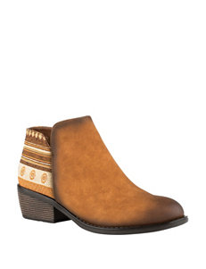 Roper Tan Ankle Boots & Booties Western & Cowboy Boots