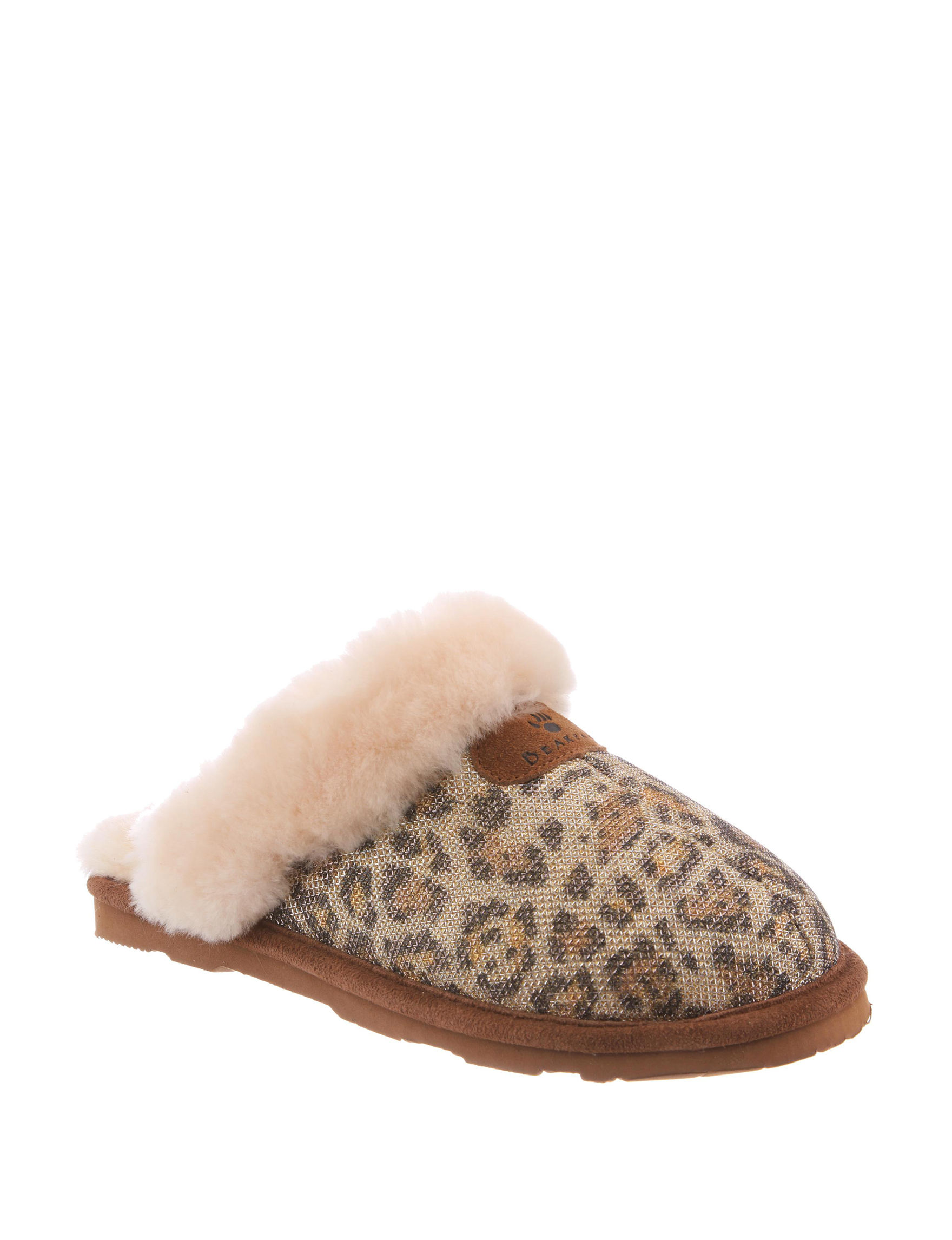 Bearpaw Gold Slipper Shoes
