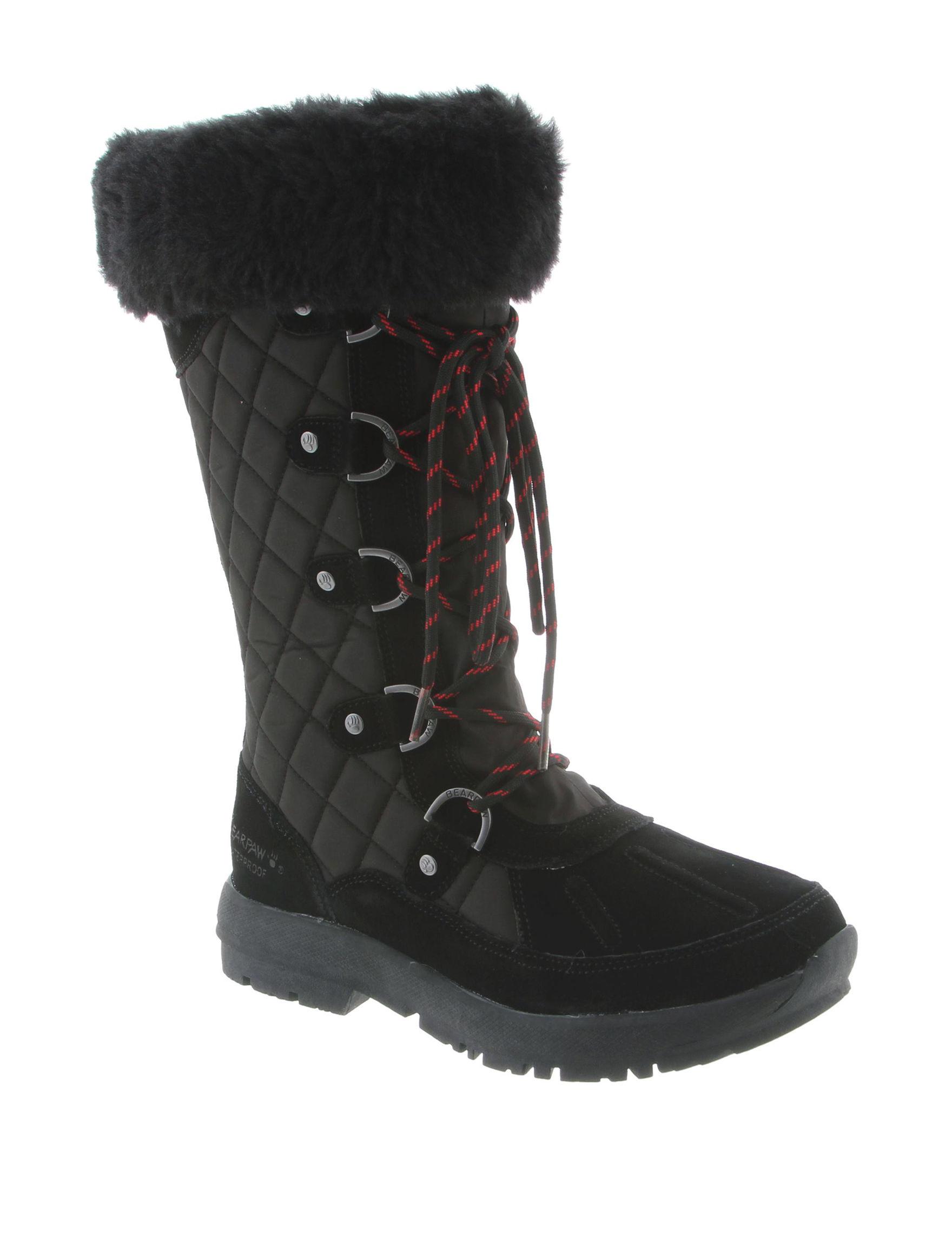 Bearpaw Black Winter Boots