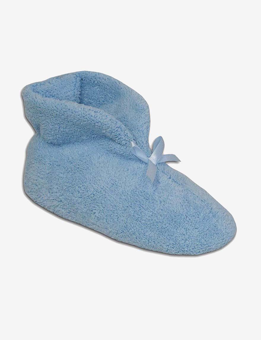 Muk Luks Blue Slipper Boots & Booties