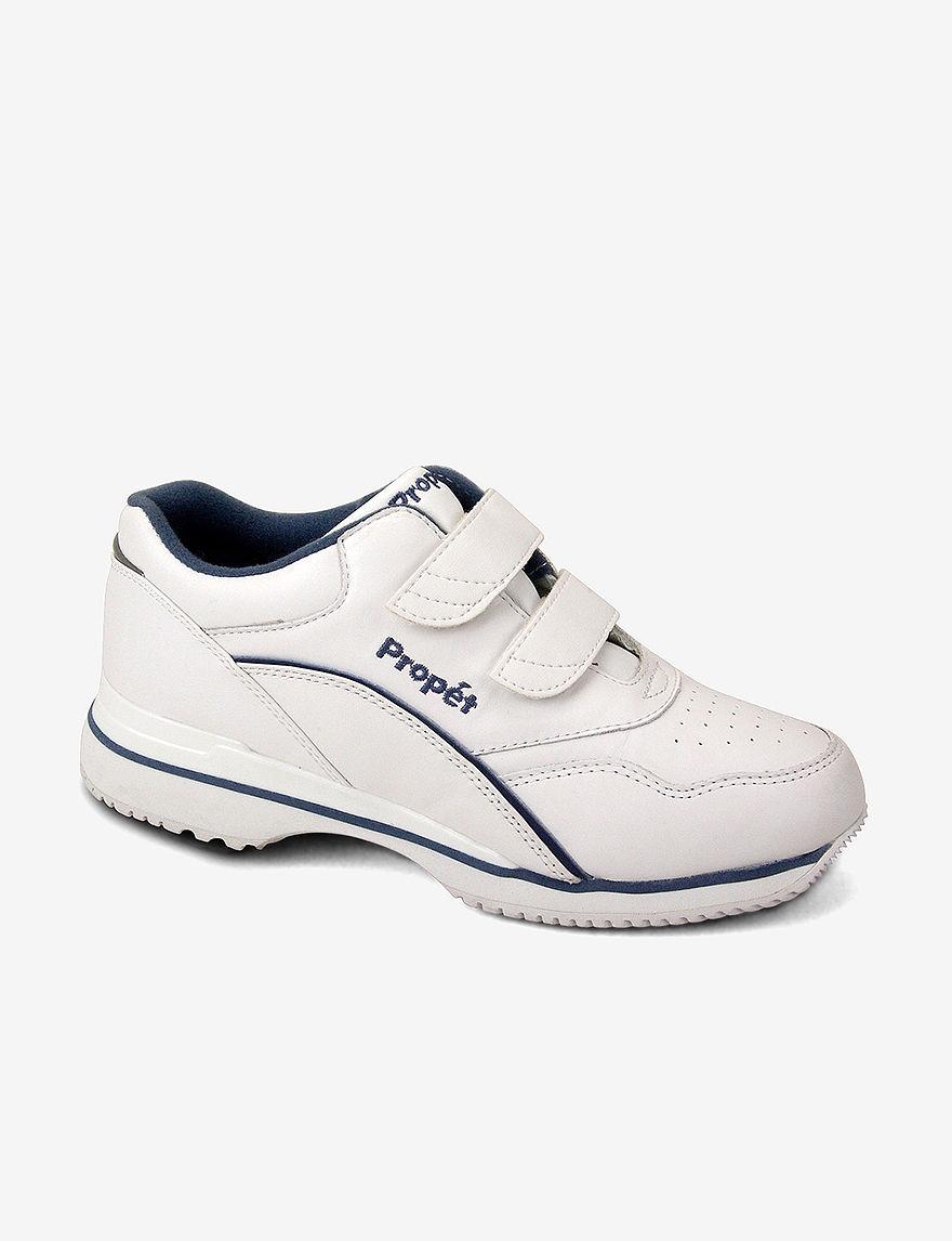 Propet White / Blue
