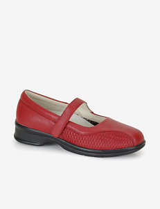 Propet Red Slipper Shoes