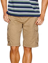 Sun River British Khaki Cargo Shorts