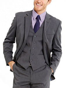 Ivy Crew Modern Fit Grey Vest