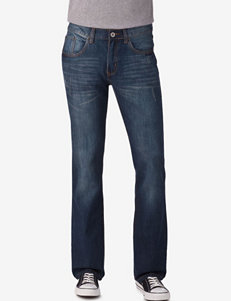 Rustic Blue Blue Slim Straight