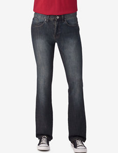 Rustic Blue True Black Slim Straight Denim Jeans – Young Men's