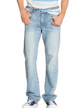 Rustic Blue Light Vintage Bootcut Denim Jeans