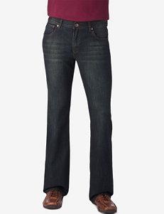 Rustic Blue Green Tint Bootcut Denim Jeans – Young Men's