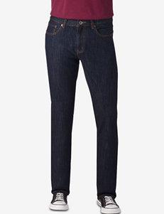 Rustic Blue Indigo Rinse Skinny Denim Jeans