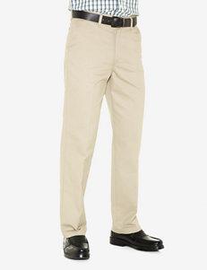 Lee® Stain Resist Flat Front Khaki Pants