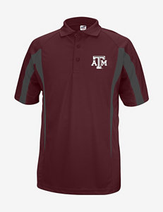 Texas A&M Aggies Maroon Polo Shirt – Men's