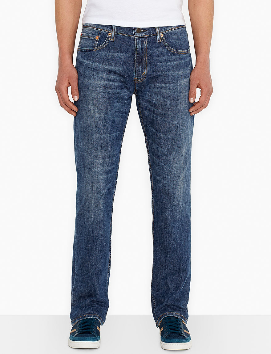 Levi's Steely Blue Comfort Relaxed Straight