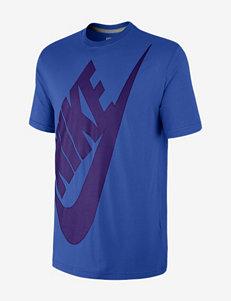 Nike® Oversized Futura Swoosh T-shirt