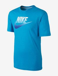 Nike® Fad Futura Logo Print T-shirt