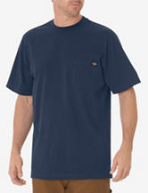Dickies Solid Color Heavyweight Pocket Crewneck T-shirt