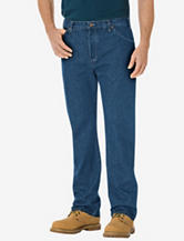 Dickies Stone Washed Regular Fit Straight Leg 6-Pocket Jeans