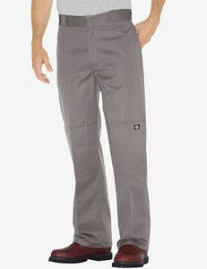 Dickies Silver Loose Fit Straight Leg Double Knee Work Pants – Men's