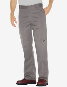 Dickies Silver Loose Fit Straight Leg Double Knee Work Pants – Men's Big & Tall