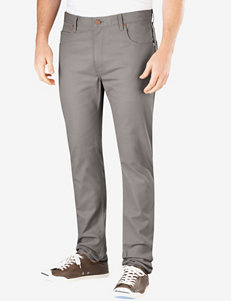 Dickies Silver Slim Fit Skinny Leg 5 Pocket Pants – Men's