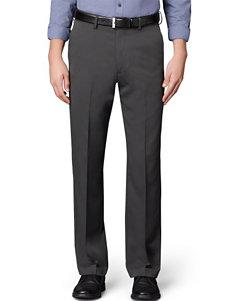 Van Heusen Big & Tall Solid Color Flat Front Pants
