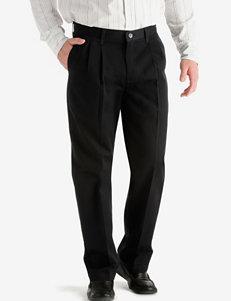 Lee® Men's Big & Tall Black Stain Resistant Pants