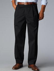 Dockers Men's Big & Tall Signature D3 Classic Fit Black Pants